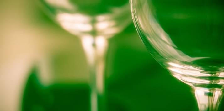 Fantastyczne szklane kieliszki